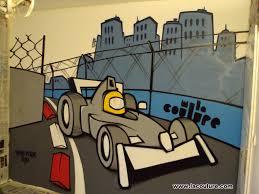 chambre enfant formule 1 collectif la coulure graffiti lyon graff chambre d enfant formule 1