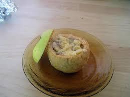 foodies recette cuisine recette de pommes a la creme de mamiloula inversées pour les