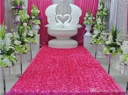 petal aisle runner luxury gold theme 3d petal aisle runner carpet 1 4m wide 10 m