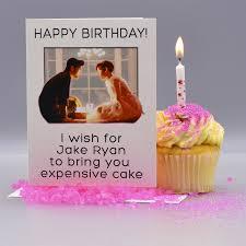 Sweet Birthday Cards Jake Ryan Sixteen Candles Birthday Card Seas And Peas
