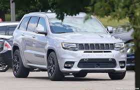 police jeep grand cherokee 2018 jeep grand cherokee trackhawk spy shots