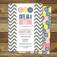 as a button baby shower decorations as a button baby shower invitation baby boy matching