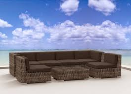 Wicker Sectional Patio Furniture by Urban Furnishing Modern Outdoor Backyard Wicker Rattan Patio
