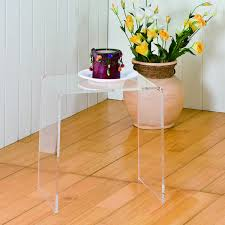 Acrylic Accent Table Acrylic Accent Table Facil Furniture