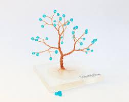 wire tree silver plated copper wire minimalistic decor