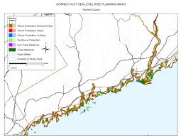 Connecticut New York Map by Sea Level Rise Planning Maps Likelihood Of Shore Protection In