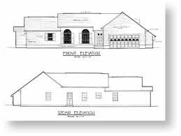 floor plans and elevations of houses design plan