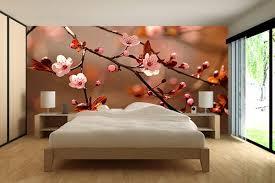 fleurs dans une chambre papier peint chambre fleurs de cerisiers izoa