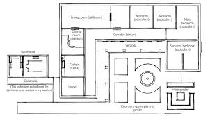 roman floor plan house pdf ancient rome pinterest roman villas house plans 73278