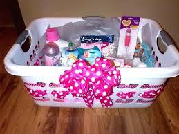 baby shower basket baby shower gift basket diy easy craft ideas