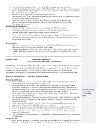 sle resume for business analyst role in sdlc phases system business analyst resume