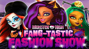 Monster High Halloween Dress Up by Monster High Games Fang Tastic Fashion Show Dress Up Game For