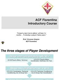 acf fiorentina player development aerobic exercise motor