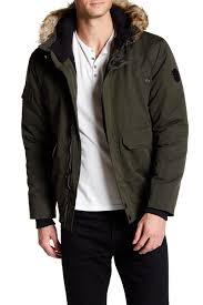 noize danshore faux fur hood er jacket hautelook