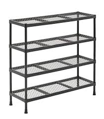 12 Inch Deep Storage Cabinet by Interior Wire Shelving Units To Maximize Space And Organize Small