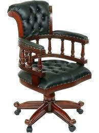 fauteuil bureau cuir bois fauteuil bois cuir fauteuil de bureau cuir et bois fauteuil de