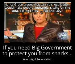 Nancy Grace Meme - nancy grace on pot militant libertarian