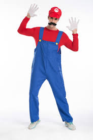 mario and luigi halloween costumes party city men super mario lugi plumber bros cosplay halloween costume