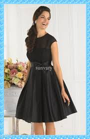 a line black cocktail dresses with sleeves long dresses online