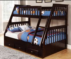 Espresso Twin Over Full Bunk Bed Bed Frames - Full and twin bunk bed
