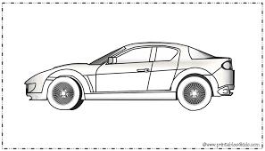 sports car coloring printables kids u2013 free word