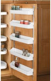 cabinet door mounted spice rack simplify your organization hold your spices in places on a shelf