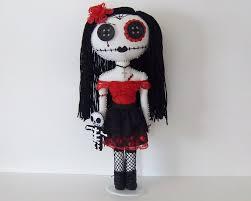 evil rag doll spirit halloween day of the dead gothic rag doll cloth art dolls tutorials