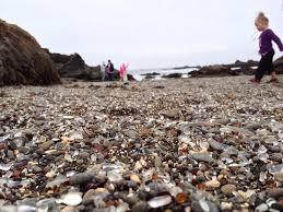 glass beach sea glass beach fort bragg california a beach made entirely of