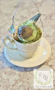 things new bird ub a teacup ornaments