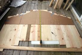 how to create a rustic wood king headboard pretty handy