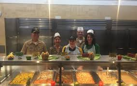 thanksgiving dinner cove galley joins navy in presenting