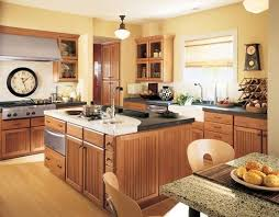 oak kitchen cabinets yellow walls maple photo by boxerpups22 photobucket kitchen design