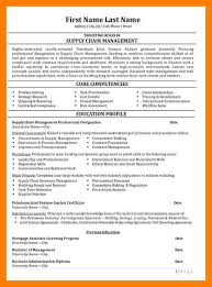 Supply Chain Management Skills For Resume 9 Supply Chain Resumes Mla Cover Page