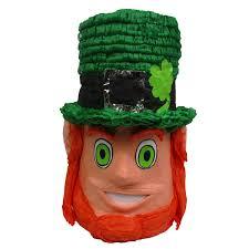 st patrick u0027s leprechaun head pinata signature party pinatas
