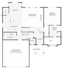 Gallery Floor Plans by Sage Home Floor Plan Visionary Homes