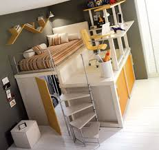 Space Saving Bedroom Furniture Ideas Lofted Space Saving Furniture For Bedroom Interiors