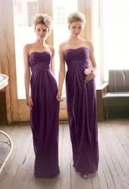 purple dress bridesmaid 19 luxurious shades of purple bridesmaids dresses weddingomania