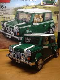 custom lego mini cooper lego mini cooper flickr