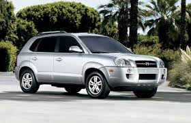 hyundai tucson v6 suv review 2008 hyundai tucson gl v6 driving