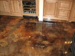different acid stained concrete floors pattern ideas grezu