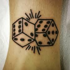 top 9 auspicious dice tattoos for and