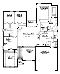 15 modern ranch floor plans montebello modern ranch home plan