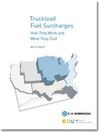 truckload fuel surcharge table truckload fuel surcharges how they work what they cost supply