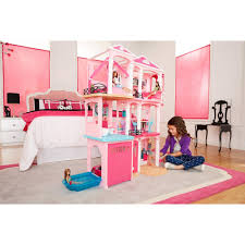 home design barbie doll dream house walmart tropical expansive