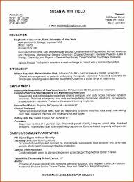 Sample College Resumes Resume Example by 5 Good Examples Of College Resumes Budget Template Letter
