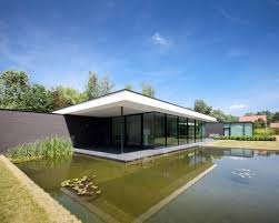 ultra modern glass house architecture design by picture with cool