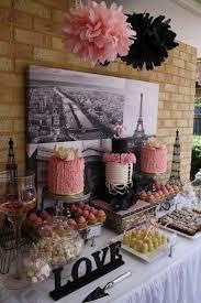 Kitchen Tea Ideas Themes Best 25 Paris Bridal Shower Ideas On Pinterest Parisian Themed