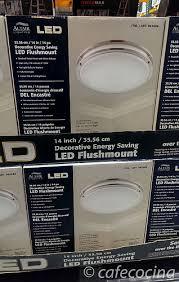 altair 14 led flushmount light costco led ceiling ls