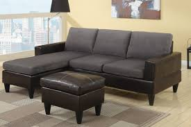 Small Leather Chair And Ottoman Small Sectional Couches Amazing Small Sectional Sofa A Rainbow
