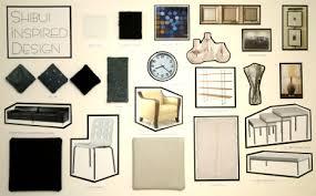 Interior Design Material Board by Interior Design Slcc